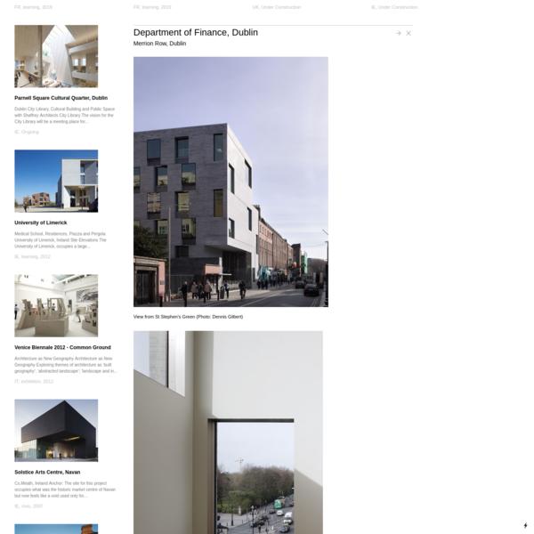 Department of Finance, Dublin - Grafton Architects