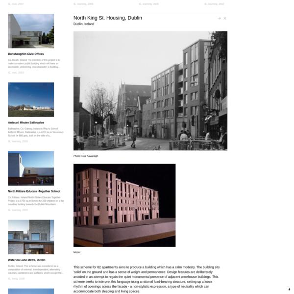 North King St. Housing, Dublin - Grafton Architects