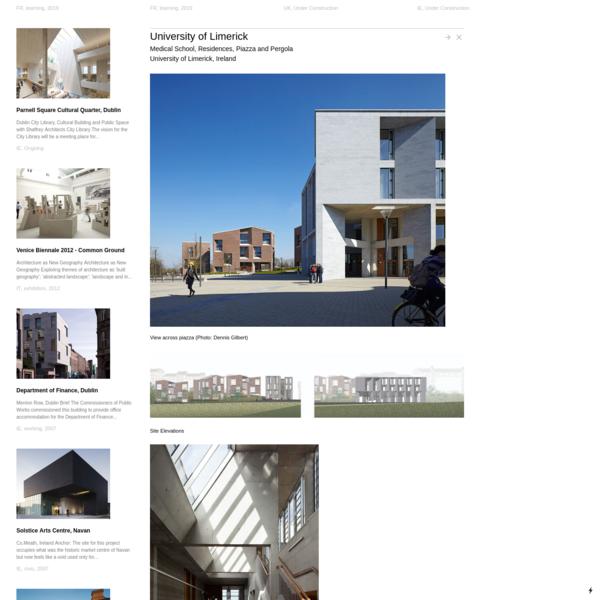 University of Limerick - Grafton Architects