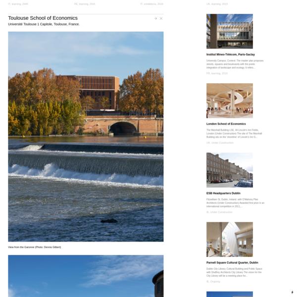 Toulouse School of Economics - Grafton Architects
