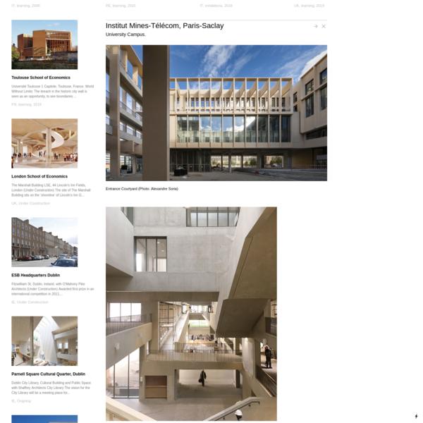 Institut Mines-Télécom, Paris-Saclay - Grafton Architects