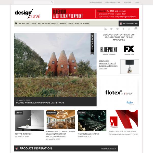 DesignCurial   Architecture, Design and Interiors Magazine