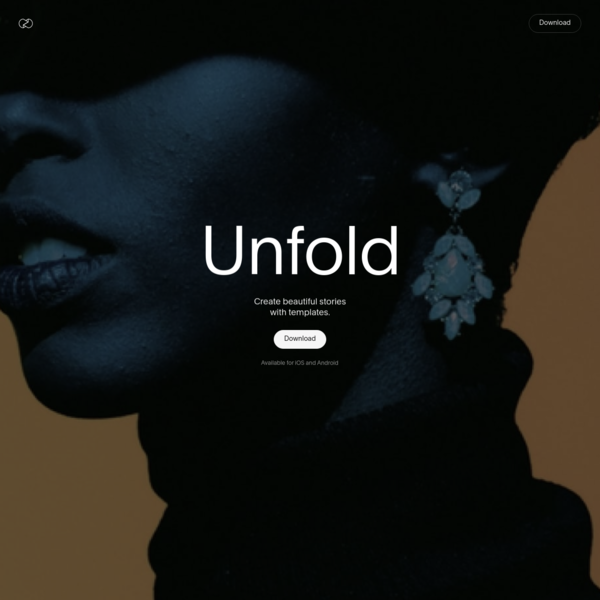 Unfold - The Toolkit For Storytellers