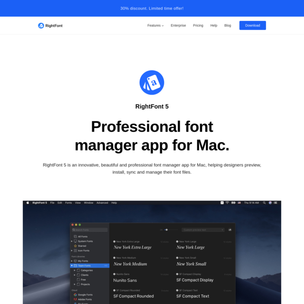 Best Font Manager for Mac