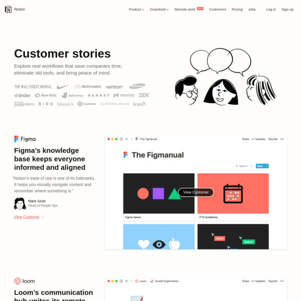 Notion - Customer Stories