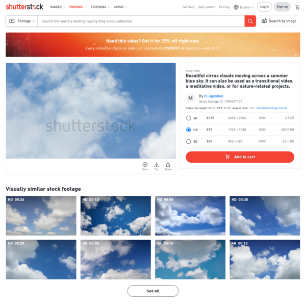 Beautiful Cirrus Clouds Moving Across Stock Footage Video (100% Royalty-free) 1009637177 | Shutterstock