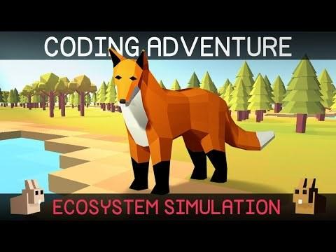 Coding Adventure: Simulating an Ecosystem