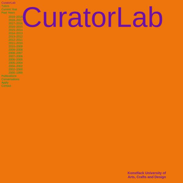 CuratorLab