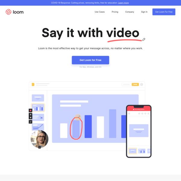 Loom | Video recording, simplified.