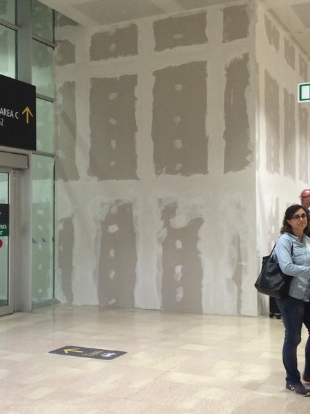 venice airport - drywall paintings