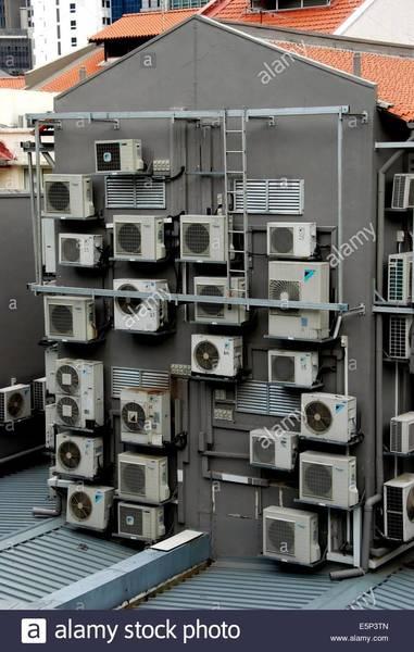 AC units ornamentation