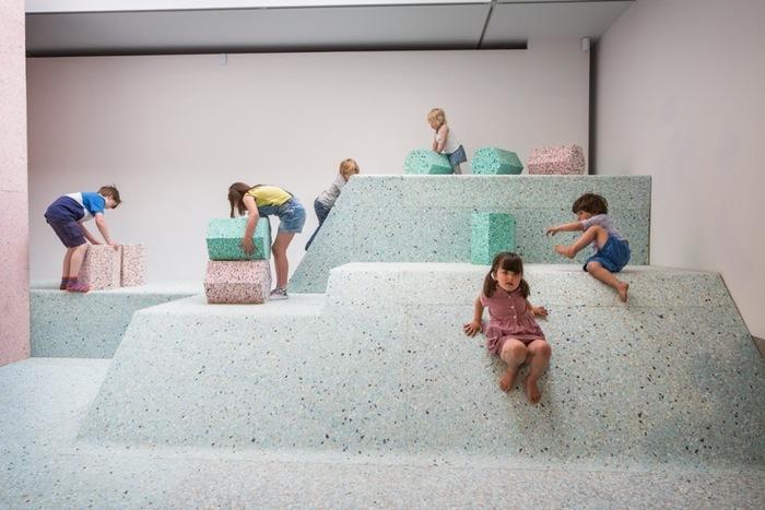 foam landscape