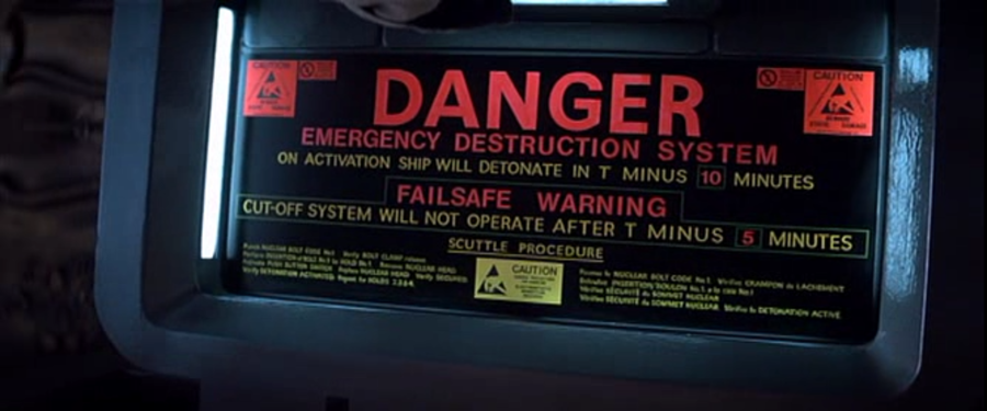 """""""A deep dive into the UX of the Nostromo's self destruct procedure,"""" by Jaye Hackett"""