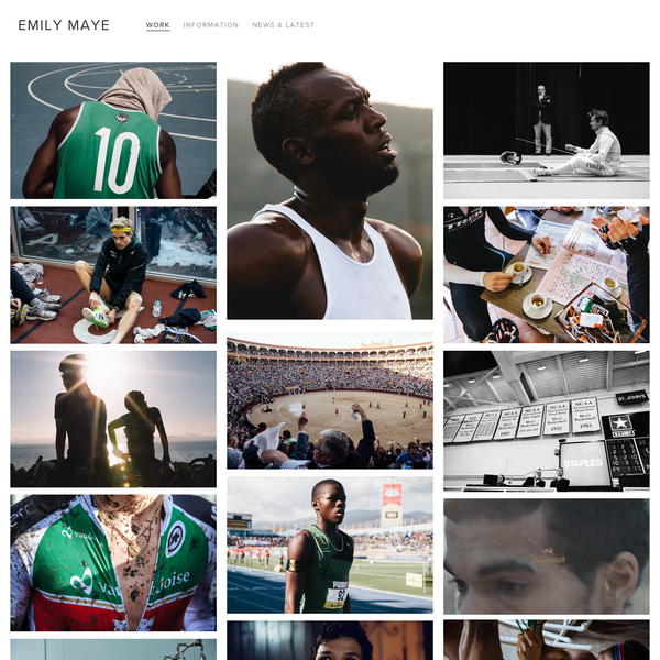 Emily Maye is a freelance photographer for Commercial and Editorial Sports Brands. She has worked to create compelling sports imagery and stories for Nike, Adidas, Puma, Rapha, Tracksmith and Trek Bikes.