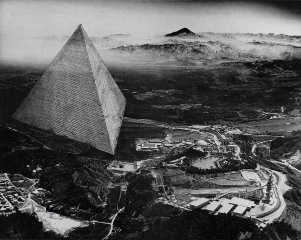 Buckminster Fuller, Floating Tetrahedron City