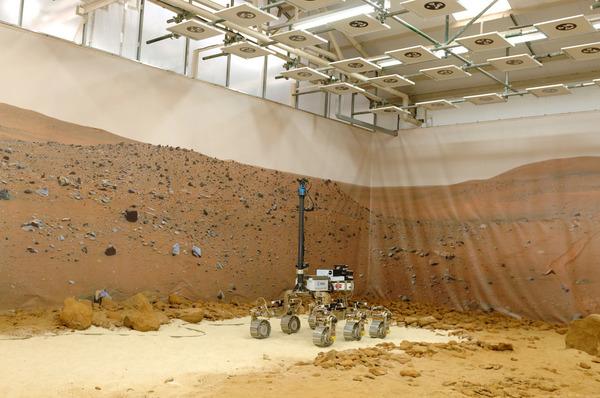 Mars Yard Stevenage