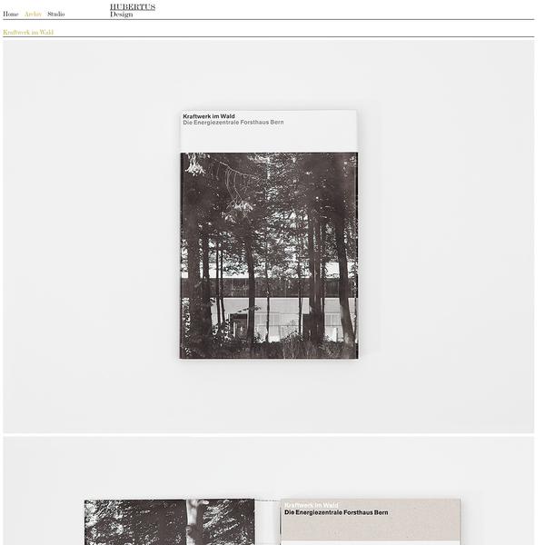 Kraftwerk im Wald - Hubertus Design