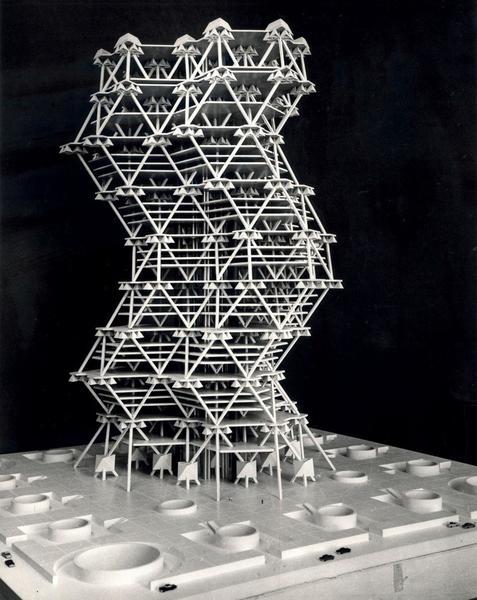 The City Tower, Louis Kahn + Anne Tyng