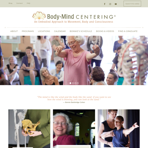 Body-Mind Centering - An Embodied Approach to Movement, Body and Consciousness