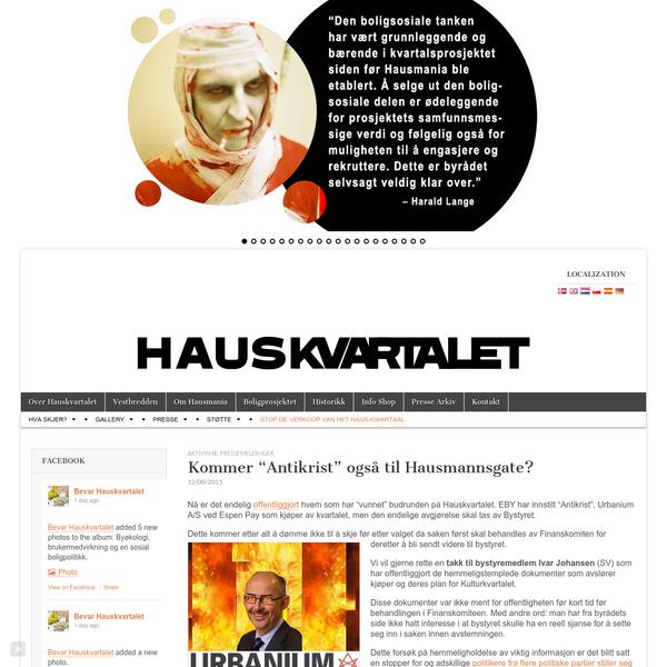 """Kommer """"Antikrist"""" også til Hausmannsgate? - Hauskvartalet"""
