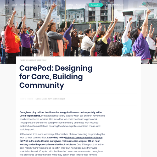 CarePod: Designing for Care, Building Community - NewCities