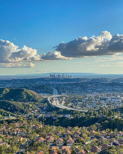 At a distance. | LA, CA.