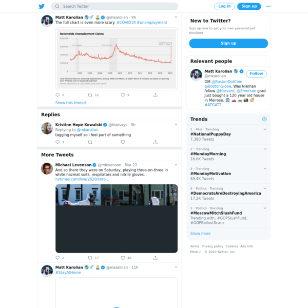 Matt Karolian 🌎☄️ 🤷♂️ on Twitter