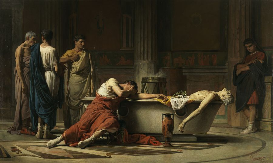 The suicide of Seneca — We are not trapped