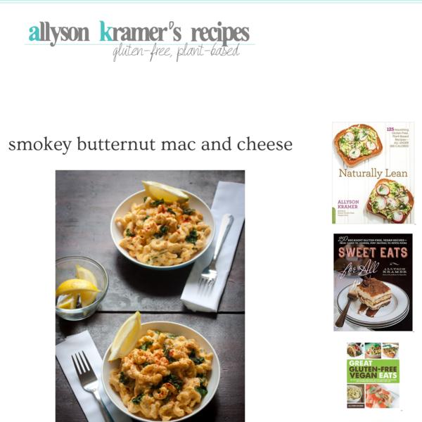 Vegan & Gluten-Free Recipes by Allyson Kramer