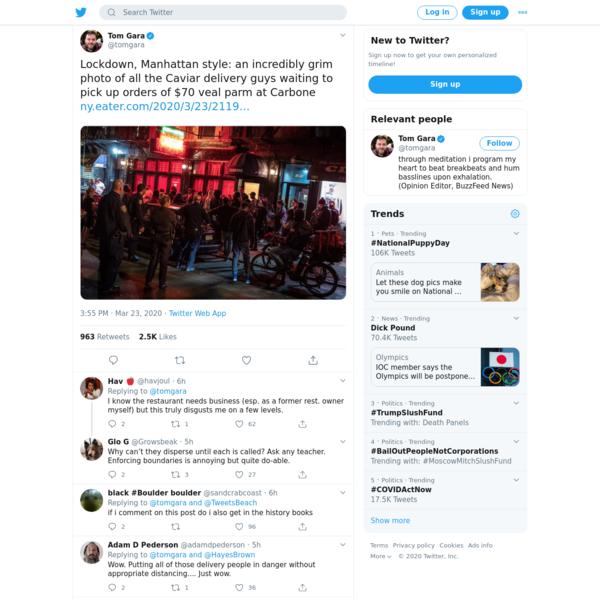 Tom Gara on Twitter