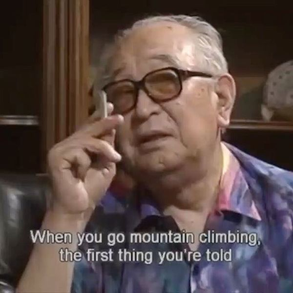 Happy birthday, Akira Kurosawa. Here's some sound advice from the master himself for the writers out there but could very we...