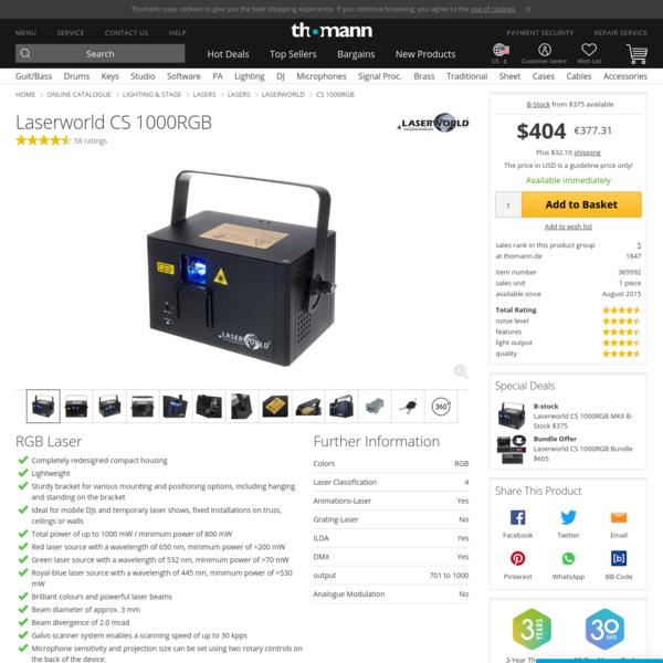 Laserworld CS 1000RGB