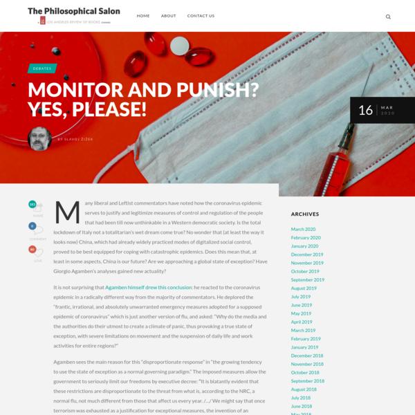 Monitor and Punish? Yes, Please! - The Philosophical Salon