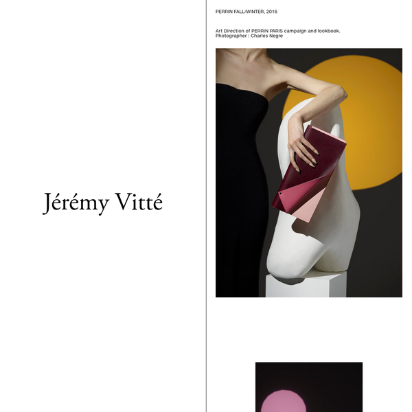 Jérémy Vitté | Perrin Fall/Winter