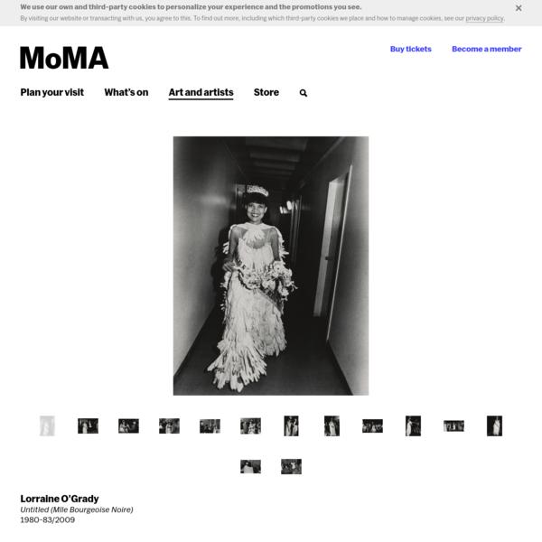 Lorraine O'Grady. Untitled (Mlle Bourgeoise Noire). 1980-83⁄2009 | MoMA
