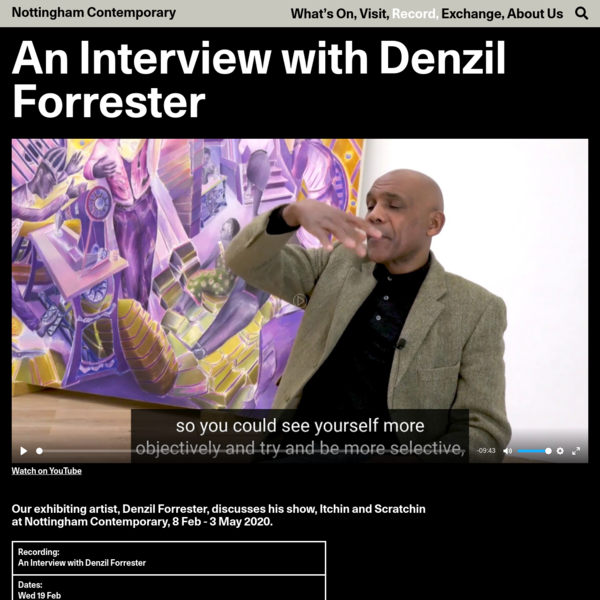 An Interview with Denzil Forrester