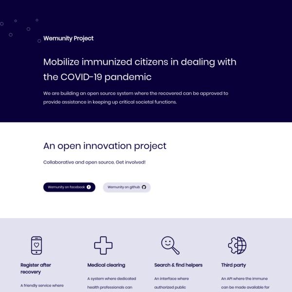 Wemunity Project