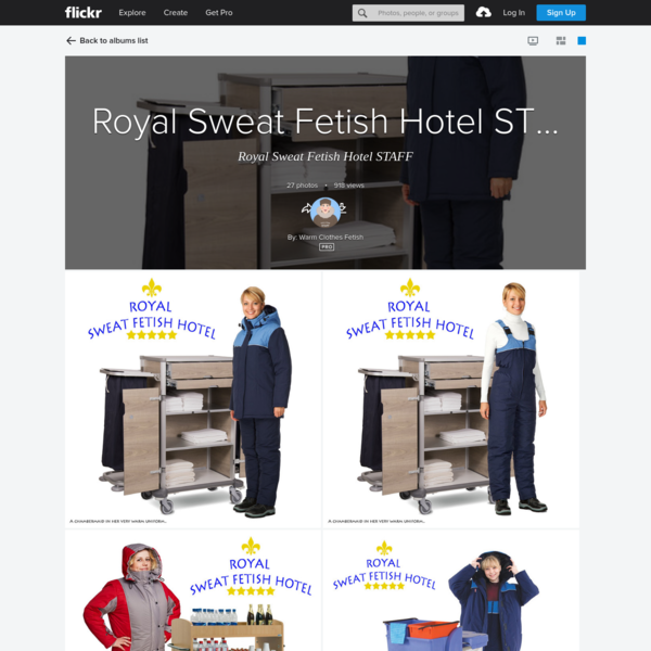 Royal Sweat Fetish Hotel STAFF