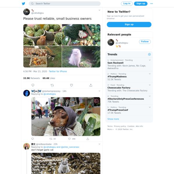 🐾 on Twitter