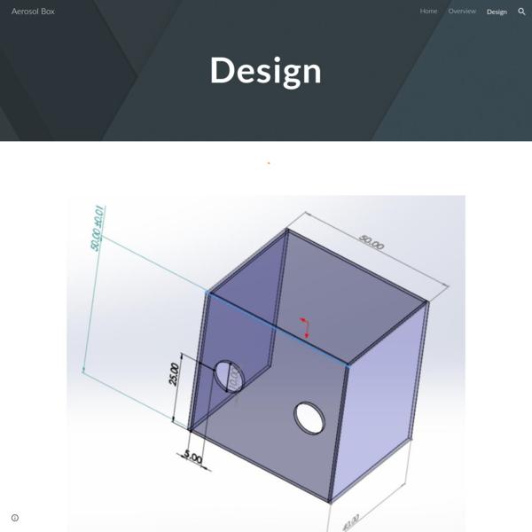 Aerosol Box - Design