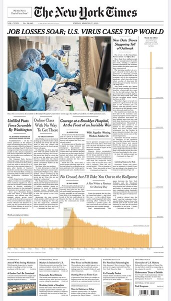 The New York Times, 3/27/20
