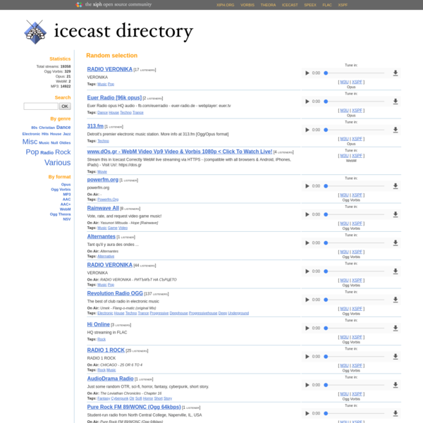 Streaming directory