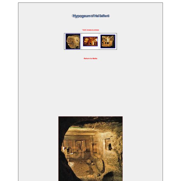 Hypogeum of Hal Saflienti