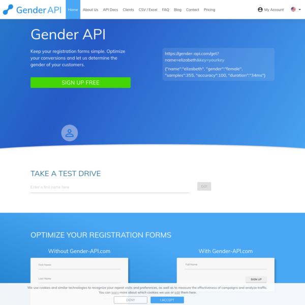 Gender API