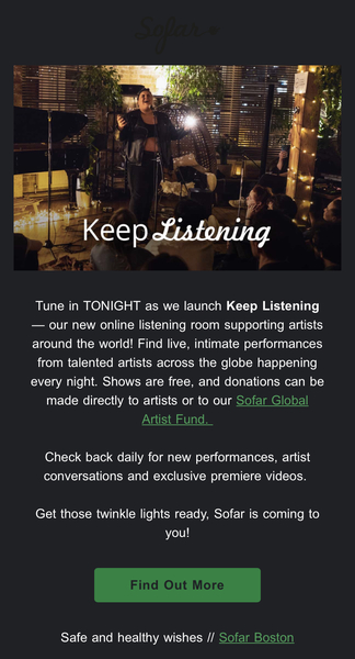 Sofar Keep Listening
