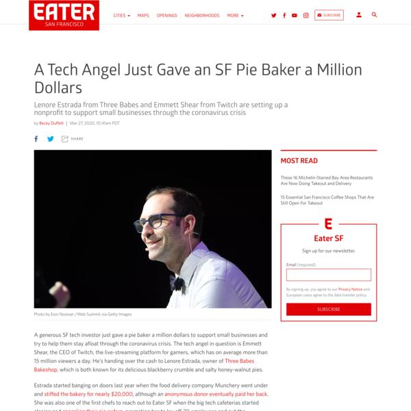 A Tech Angel Just Gave an SF Pie Baker a Million Dollars