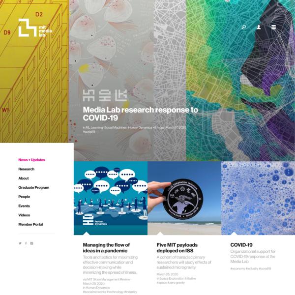 News + Updates – MIT Media Lab
