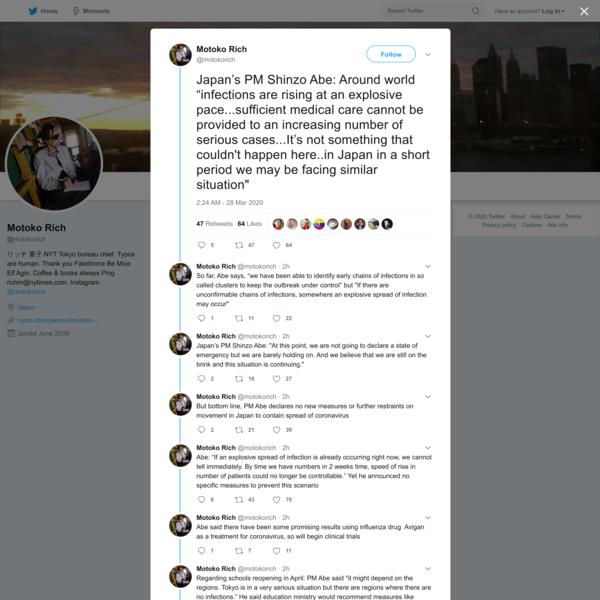 Motoko Rich on Twitter