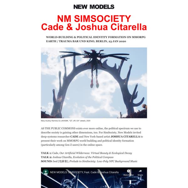 NM SIMSOCIETY<br>Cade & Joshua Citarella