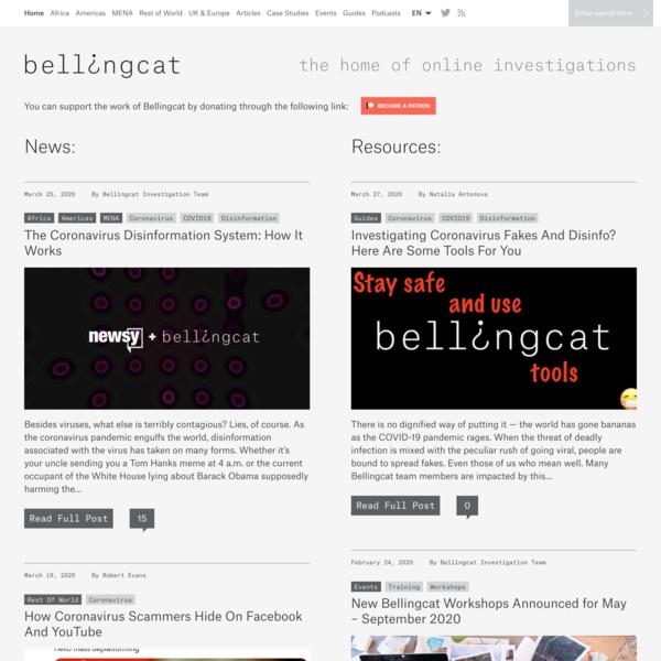 Home - bellingcat